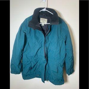 Women's green jacket Tall